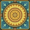 Vector clipart: Floral Mandala