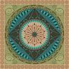 Vector clipart: Vegetal Mandala