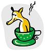 Vector clipart: Dog Bath Cartoon