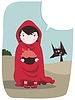 Vector clipart: Red Riding Hood