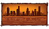 Melbourne skyline | Ilustración vectorial