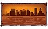 Portland skyline | Ilustración vectorial