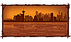 Skyline von Vancouver | Stock Vektrografik