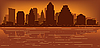 Austin horizonte | Ilustración vectorial
