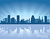 Baltimore skyline | Stock Vector Graphics
