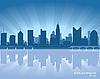Columbus horizonte | Ilustración vectorial