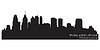 Philadelphia skyline | Stock Vector Graphics