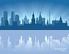 Moscú horizonte | Ilustración vectorial