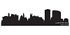 Vector clipart: Limerick, Ireland skyline. Detailed silhouette