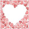 Векторный клипарт: Валентина сердце карты.