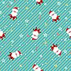 Векторный клипарт: Санта бесшовные