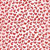 Векторный клипарт: Валентина бесшовные модели сердца