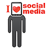 Vector clipart: Social media concept