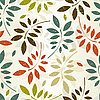 Seamless leaves wallpaper | Stock Vector Graphics