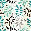 Vector clipart: seamless leaves wallpaper