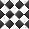 Vector clipart: Black And White tile