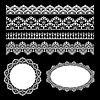 Lace set | Stock Vector Graphics