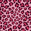 Seamless pink leopard texture pattern | Stock Vector Graphics
