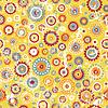 Бесшовные цветочные фон в стиле гранж