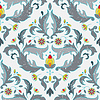 Vector clipart: Multicolor seamless pattern