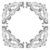 Ornate frame | Stock Vector Graphics