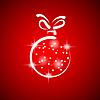 Vector clipart: christmas ball