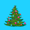 Vector clipart: christmas tree