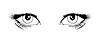 Vector clipart: Eyes