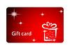 Vector clipart: Gift card