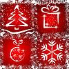 Vector clipart: Grunge Christmas