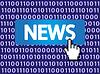 Vector clipart: News Button