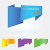 Vector clipart: Origami