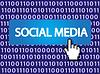 Vector clipart: Social media