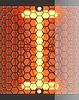 Vector clipart: Nixie tube indicator