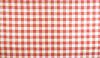 红色和白色的格子桌布图案 | 免版税照片