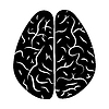 Vector clipart: Brain