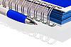 Ołówek z notebookiem | Stock Foto