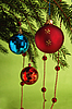 Photo 300 DPI: Christmas balls