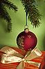 Christmas ball i dar | Stock Foto