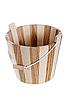 Drewniane wiadro | Stock Foto