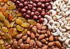 Nuts And Raisins | Stock Foto