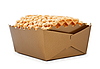 Box Of Waffles | Stock Foto