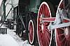 Photo 300 DPI: old steam locomotive