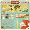 Векторный клипарт: Урожай инфографики