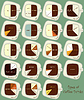 Vintage infographics set - types of coffee drinks