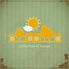 Vector clipart: Rural estate symbol