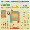 Векторный клипарт: Строительство иконки и графика