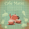 Vector clipart: Vintage Cover Cafe Menu