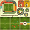 Vector clipart: Football Infographic