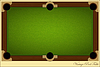 Vector clipart: Vintage Pool Table